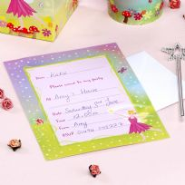 Fairy Princess Party Invitations (10)